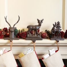 Highland Retreat Christmas Stocking Hangers