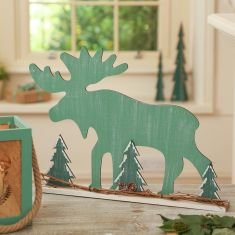 Nordic Green Christmas Home Decorations