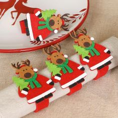 Rudolph Reindeer Christmas Table Decorations