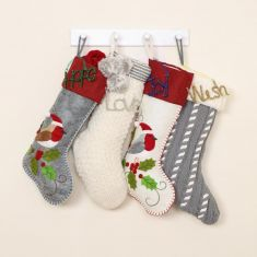 Christmas Crafts Chunky Knit Stockings