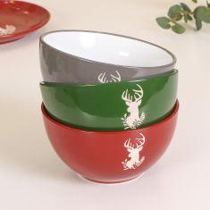 Christmas Dessert Bowls