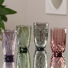 Colours Embossed Tumblers