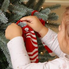 Christmas Knit Hanging Tree Decorations
