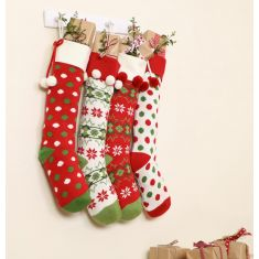 Family Christmas Knitted Decoration Collection