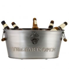 The Bar is Open Large Beer Bucket