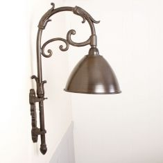 Silver Vintage Bistro Wall Light