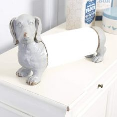 Sausage Dog Shaped Kitchen Roll Holder
