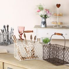 Country Style Cutlery Caddy Collection