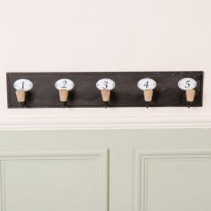 Industrial Wall Mounted Coat Rack