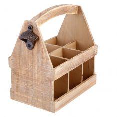 6 Bottle Wooden Beer Crate