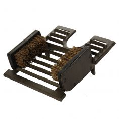 Cast Iron Combination Boot Brush & Shoe Scraper