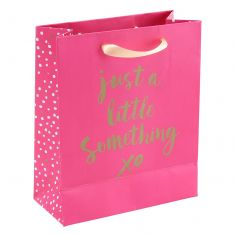 Just a Little Something Pink Gift Bag