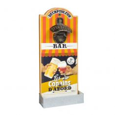 Retro French Wall Mounted Bottle Opener