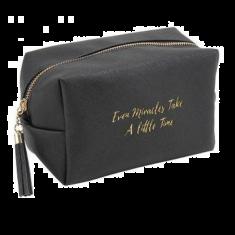 Miracles Black Make Up Bag