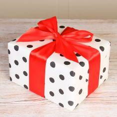 Red Satin Luxury Gift Wrap Ribbon