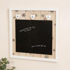 Snowflake Chalkboard