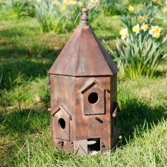 Giant Rustic Wooden Bird Nesting Box