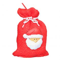 Novelty Miniature Santa Sack Candle
