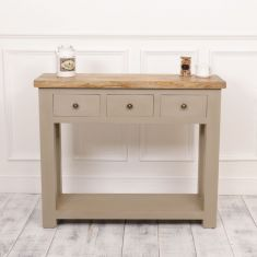 Grey French Country Farmhouse Sideboard