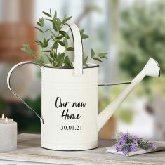 Personalised Watering Can Flower Planter