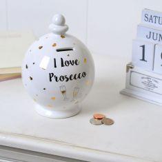 I Love Prosecco Money Saving Pot