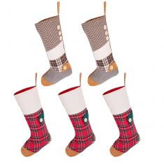 Dress the Mantle Pack of 5 Country Stockings