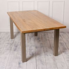 Fossil Grey Dining Table