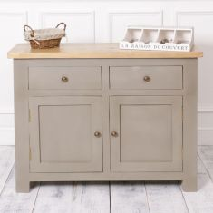 Fossil Grey Sideboard Cabinet