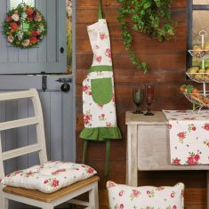 Helmsley Blush Kitchen Linen Collection