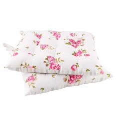Set of 2 Vintage Floral Print Alfresco Dining Chair Cushions