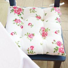 Set of 2 Helmsley Blush Vintage Floral Seat Pads