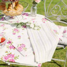 Helmsley Blush Vintage Table Linen