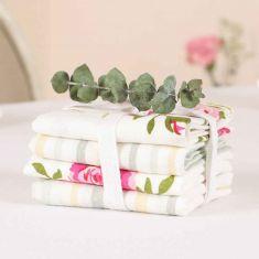 Set of 2 Helmsley Blush Vintage Cloth Napkins