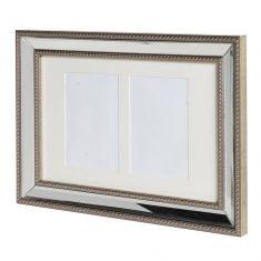 Champagne Bronze Mirrored Photo Frame