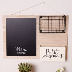 French Mounted Family Wall Organiser