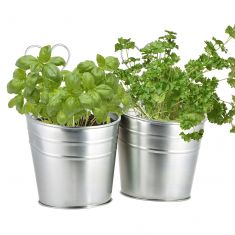 Double Wall Hanging Herb Plant Pots