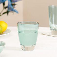 Ocean Blue Glass Tumbler