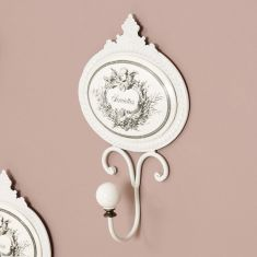 Toilettes Ornate French Wall Hook