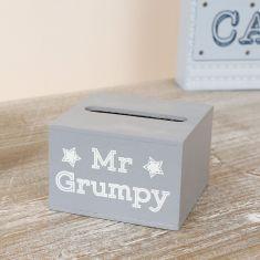 'Mr Grumpy' Wooden Mobile Phone Holder