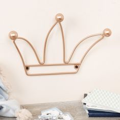 Copper Crown Wall Decoration