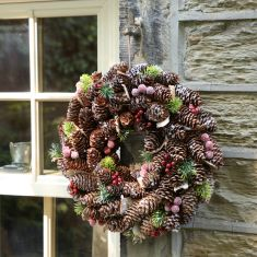 Frosted Berries Christmas Wreath 14