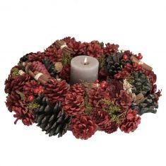 Cinnamon Pine Christmas Dining Centerpiece