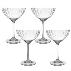 Set of 4 Champagne Saucers