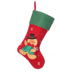Gingerbread Man Children's Christmas Stocking