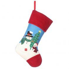 Children's Snowman Christmas Stocking