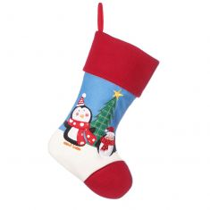 Skip and Rolo Childrens Penguin Christmas Stocking