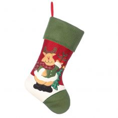 Rudy The Reindeer Children's Christmas Stocking