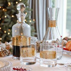 Gather Together Gold Glassware