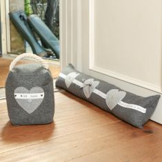Made with Love Draught Excluder and Door Stop