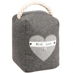 With Love French Country Door Stop